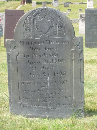 Headstone of William Morgan