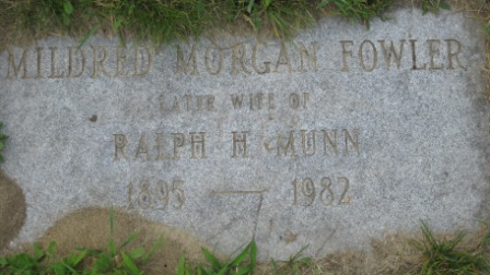 Headstone of Mildred Morgan